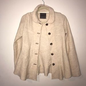 Guinevere button up sweater